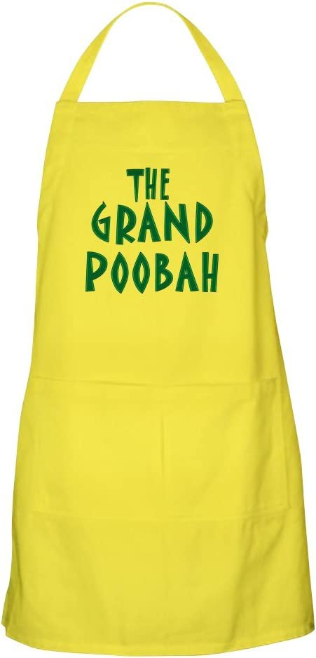 Grand Poobah BBQ Apron Grilling Apron or Baking Apron CafePress Kitchen Apron with Pockets