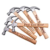 Personalized Hammer, Custom Text, Husband Gift Ideas for Men