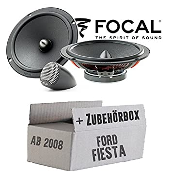 2-Wege JBL GX600C Einbauset f/ür Ford Fiesta MK7 Front Heck JUST SOUND best choice for caraudio 16cm Lautsprecher System