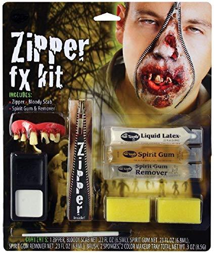 (Deluxe FX Zipper Makeup Kits - Vampire Werewolf Zombie Devil Rave Face Paint)