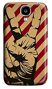 Samsung Galaxy S4 I9500 Cases & Covers - Peace Hand Custom PC Soft Case Cover Protector for Samsung Galaxy S4 I9500