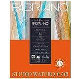 watercolor paper 140lb hot press - Fabriano Studio WC Pad 11X14 HP 300G 50 Shts