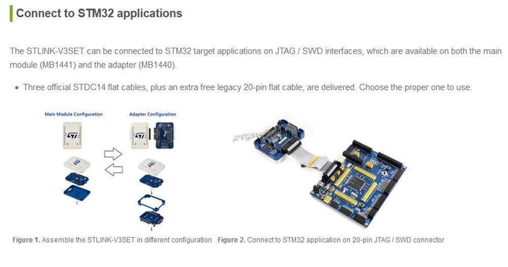 Amazon com: STLINK-V3SET Microcontrollers ST STM8 and STM32
