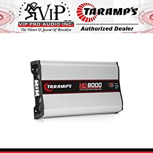 New Taramps HD8000 HD 8000 Watt 12.6V 2 Ohm Car Audio Competition Amplifier/Amp