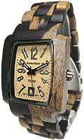 Tense Wood Mens Watch Rectagular Hypoallergenic J8102DM LF from Tense Wood Watches