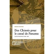 des chinois pour le canal de panama