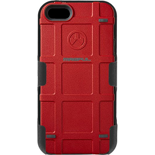 Magpul Industries iPhone 5/5s and iPhone SE MAG454-RED Bump Case & EGO Tactical Swivel Belt Clip Holster Combo Kit (Red) (Magpul Industries Iphone 5 5s Bump Case)