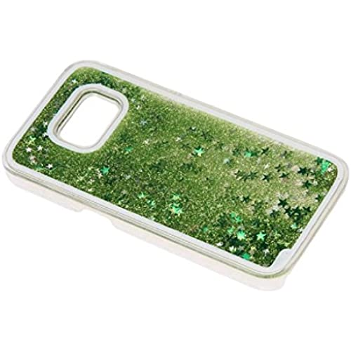 Beautyvan 2016 Trend Glitter Star Liquid Back Phone Case Cover for Samsung galaxy S7 Edge (Green) Sales