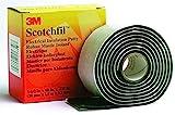 Rubber band Scotchfil (L x W) 1.5 m x 38 mm Black Butyl rubber Scotchfil 3M