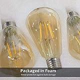 Brightown Led Edison Light Bulb 6Pcs, Vintage E26