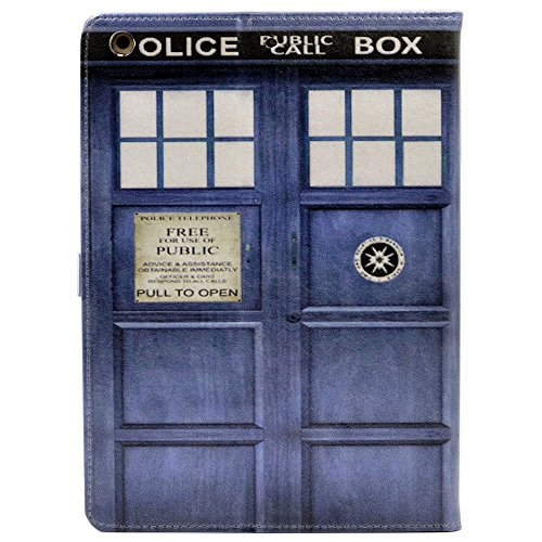 iPad 2017 2018 iPad 9.7-inch Case, Doctor Who Tardis Design Leather Flip Stand Case Cover for Apple iPad 9.7 inch 2017