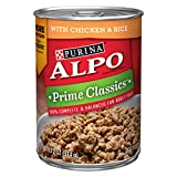 Cheap Purina ALPO Prime Classics With Chicken & Rice Adult Wet Dog Food – Twelve (12) 13.2 oz. Cans