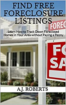 how to find foreclosed homes in your area free