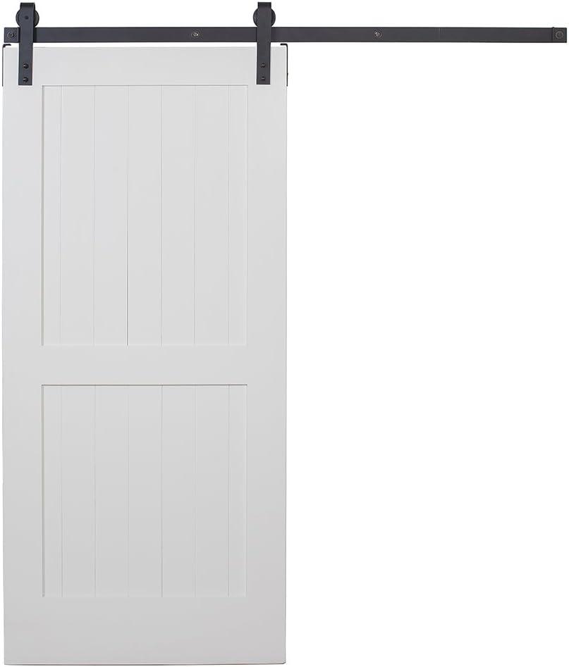 Knotty aliso 2-Panel interior granero puerta apertura ancho: 42