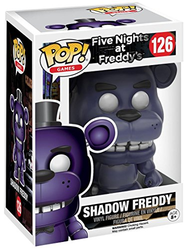 Funko Pop! Five Nights at Freddy's Shadow Freddy Exclusive Vinyl Figure #126