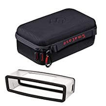 Smatree® B160s Carrying Case with Black Soft Cover for Bose Soundlink Mini Wireless Speaker
