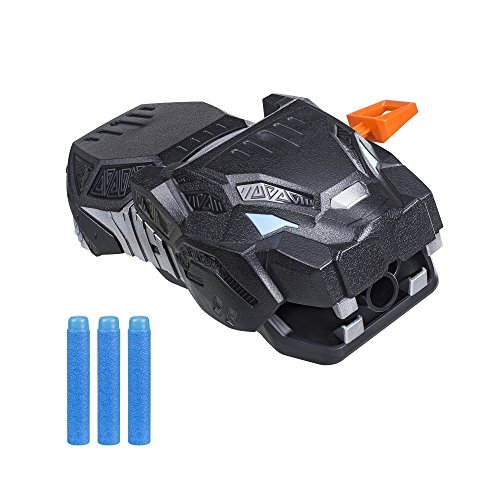 Marvel Black Panther Nerf Vibranium Strike Gauntlet]()
