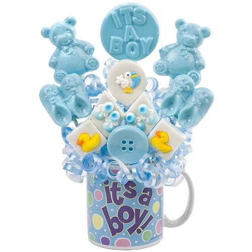 (Just Adorable! Boy Lollipop Bouquet)