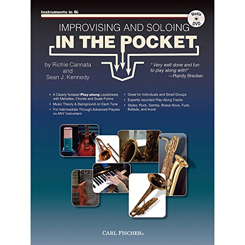 - Carl Fischer Improvising And Soloing In the Pocket (For Bb Instruments) - Book/CD