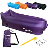 Best Sofa Air Mattresses - kilofly Inflatable Lounger Waterproof Portable Couch Beach Camp Review