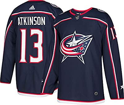 Columbus Blue Jackets Adidas Cam Atkinson Authentic Pro Jersey Navy