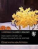 img - for Jena und Auerstedt, ein R ckblick und Ausblick: Vortrag (German Edition) book / textbook / text book