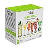 Bibo Barmaid System, Rethink The Drink (Cocktail Mix 12-pack, Assorted Flavors)