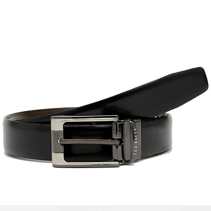 e254849a6455 Ted Baker CRAFTI BLACK BROWN REVERSIBLE BELT  Amazon.co.uk  Clothing