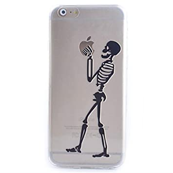 coque iphone 7 squelette