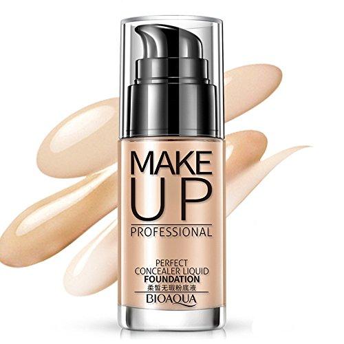 Professional Makeup Concealer Liquid Foundation Moisturizing Waterproof Concealer Cream (B) by Hometom Beauty (Image #2)