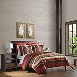 Cozy Bed Southwest Reversible Comforter Set, King, 5 Piece