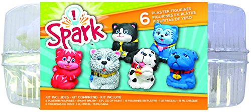 Colorbok YPI50048 Plaster Figurines