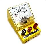 Eisco Labs Moving Coil Meters DC, Voltmeter 0-5 V, 0-15 V (Dual)