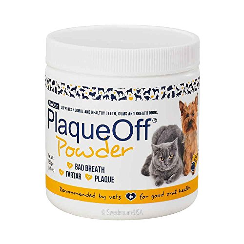 Dog Dental Cat Care (Proden PlaqueOff Dental Care for Dogs and Cats, 180gm)