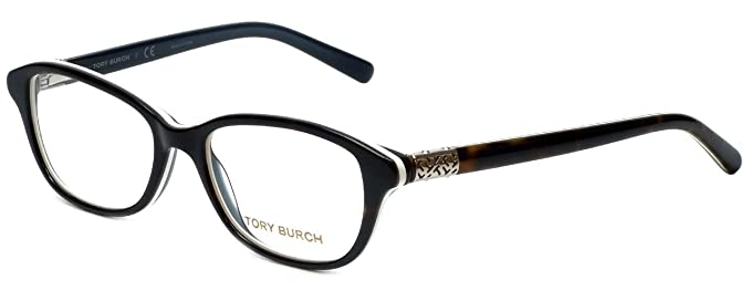 ee65a852a69f1 TORY BURCH Eyeglasses TY 2042 1276 Tortoise White 53MM at Amazon ...