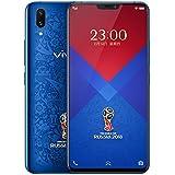 "Original Vivo x21 Screen fingerprint Mobile Phone 6.28"" 6GB RAM 128GB ROM Dual Rear Camera Android 8.1 2280x1080 face wake phone (World Cup Blue Edition)"
