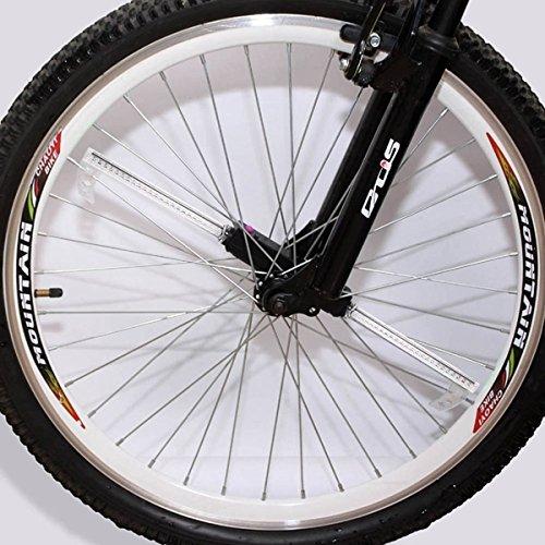 PhilMat 48 LED 48 modèles vélo lumière roues chaudes bricolage programmable de roue de vélo bicyclette