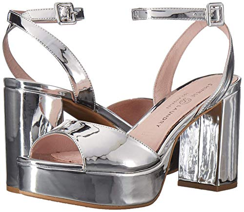 Femmes Silver Trixi Chinese Compensées Laundry Sandales 1qaCvxwnO