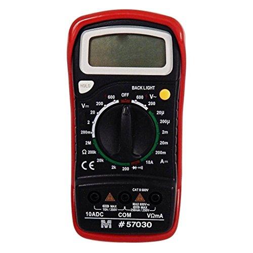 OKSLO Morris 57030 - Digital Multimeter with Rubber Holster