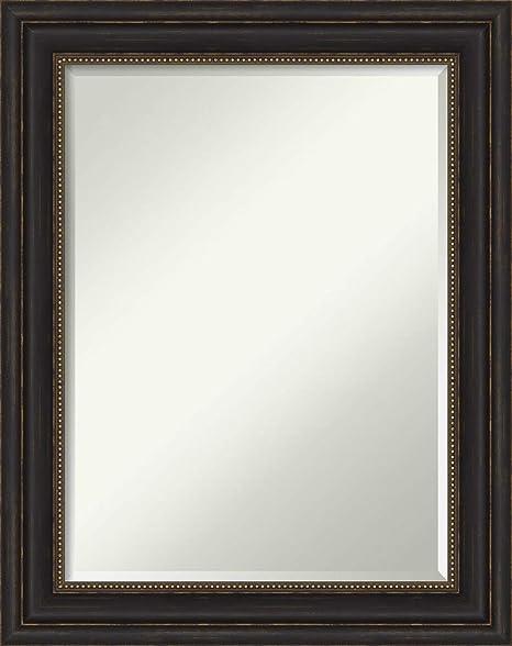 Amazon Com Framed Vanity Mirror Bathroom Mirrors For Wall Accent Bronze Mirror Wall Mounted Mirror Medium Mirror 29 00 X 23 00 In Home Kitchen