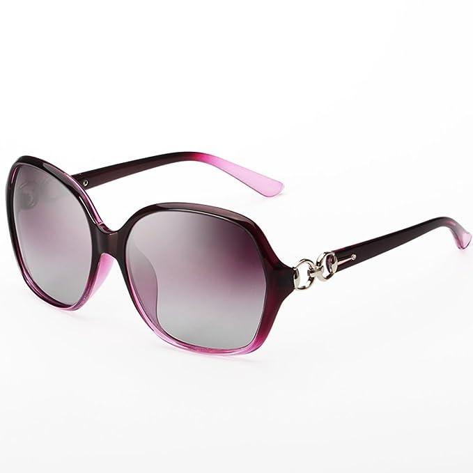 gafas de sol polarizadas/Gafas de sol UV-gran marco/Doble ...
