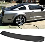 vapor boots - Pre-painted Trunk Spoiler Fits 2005-2009 Ford Mustang | OE Style ABS Painted #ZY Vapor Silver Metallic Trunk Boot Lip Spoiler Wing Deck Lid Other Color Available By IKON MOTORSPORTS | 2006 2007 2008