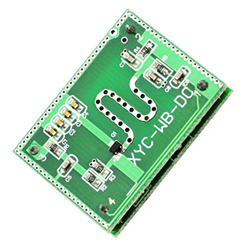 WHDTS 2.25GHz Microwave Radar Detector Module Detection Range 6-9M Smart Sensor Switch Home Control 3.3-20V DC
