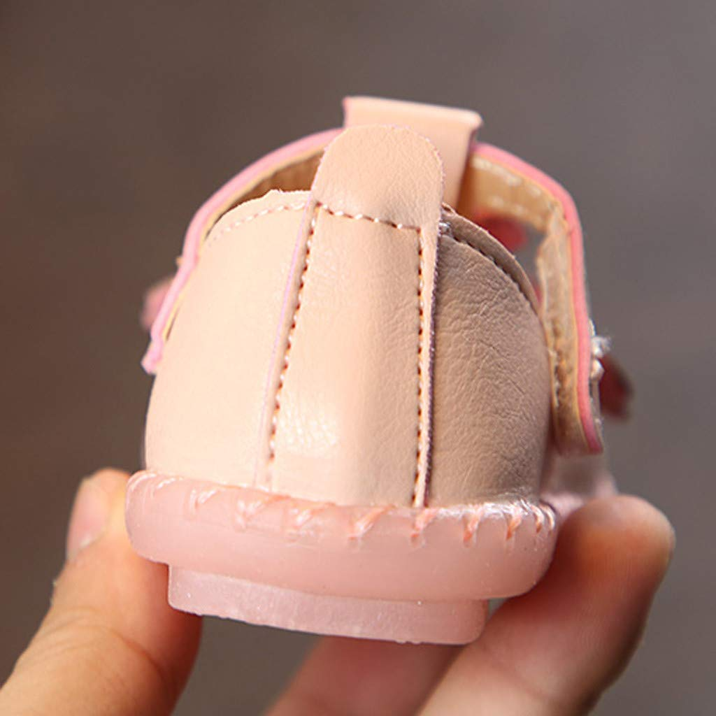 Diufon Infant Baby Girl Floral Sneaker Toddler Children First Wallker Single Shoes