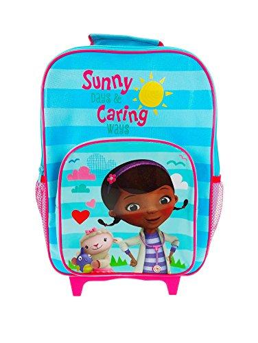 Offizielles Disney Doc McStuffins Premium Kinder Rädern Tasche Trolley Urlaub Koffer neuen Sommer Design.