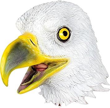 Ciao 21192 – Águila Máscara de látex, blanco