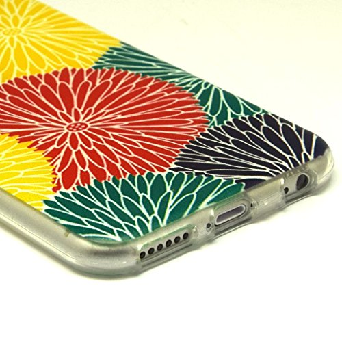 iPhone 6plus (14cm) Coque souple en TPU, yaobaistore Coque de protection en TPU Étui pour Apple iPhone 6plus (13,3cm) Étui souple en silicone gel