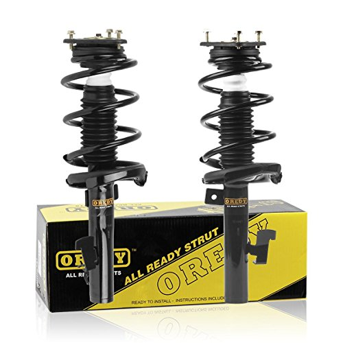 Front Pair Quick Strut Complete Assembly Shock Absorber for 2004-2012 Mazda 3 2006-2010 Mazda 5