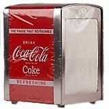 Coca Cola Napkin Retro American Diner Style Serviette Dispenser by cococola