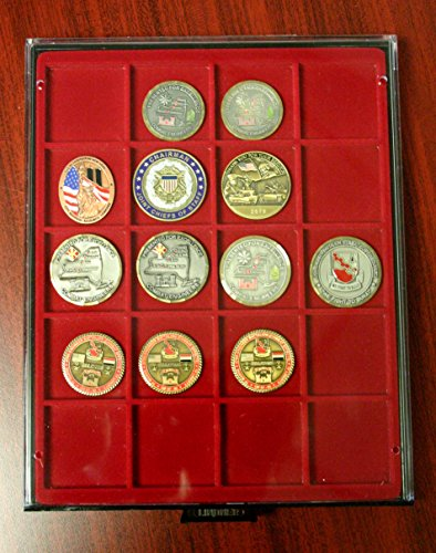 Challenge Coin Military Medal Frame, Shadow Box, Display